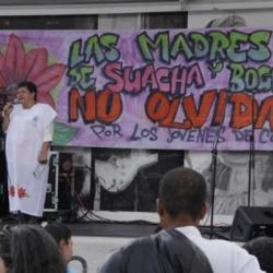 Madres de Soacha, 6 años desaparecidos