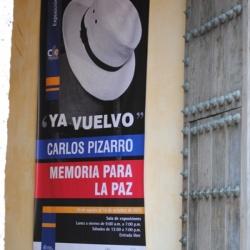 """Exposición  """"Ya Vuelvo""""  Cartagena de Indias"""